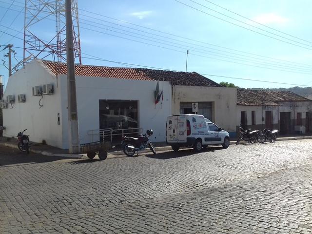 Agência do Bradesco ao lado do Correios e BB. Foto: Leo Lasan