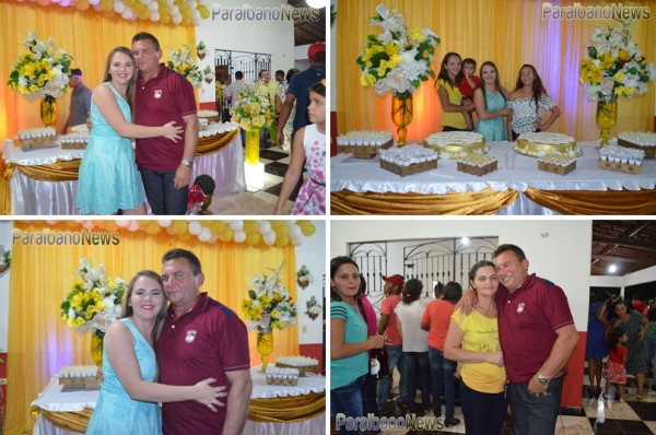 dilma com os pais e irmãs. foto.lasan