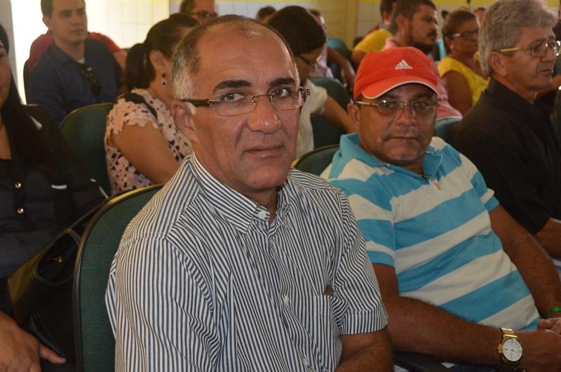 Vice-prefeito Francisco Noleto e secretário adjunto de agricultura Dugero.