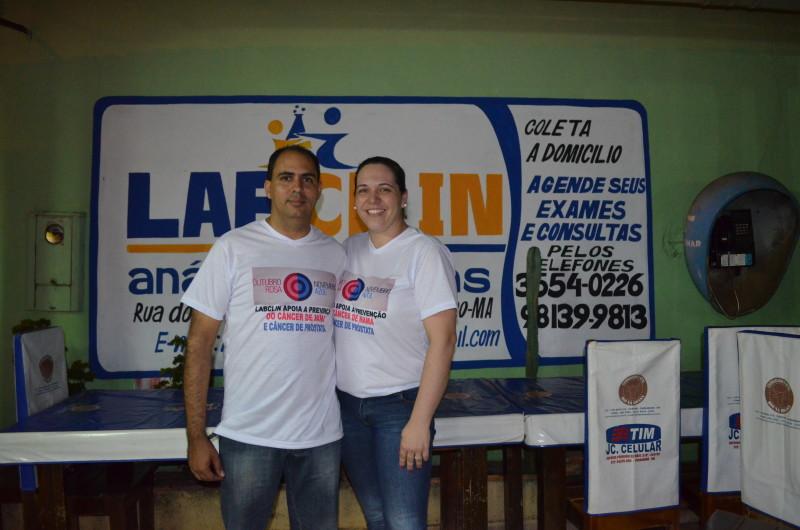 Ludenrique e Dra. Bethânia investindo e acreditando em Paraibano. Foto:Leo Lasan