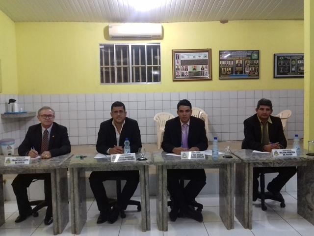 Vereadores Tico Leite, João Marcelo, Ricardo Xavier e Nilton Pereira